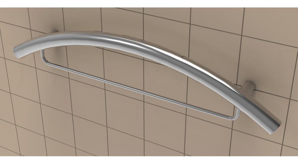 Grab Bars Curved Flooring Solutions Muskoka Flooring