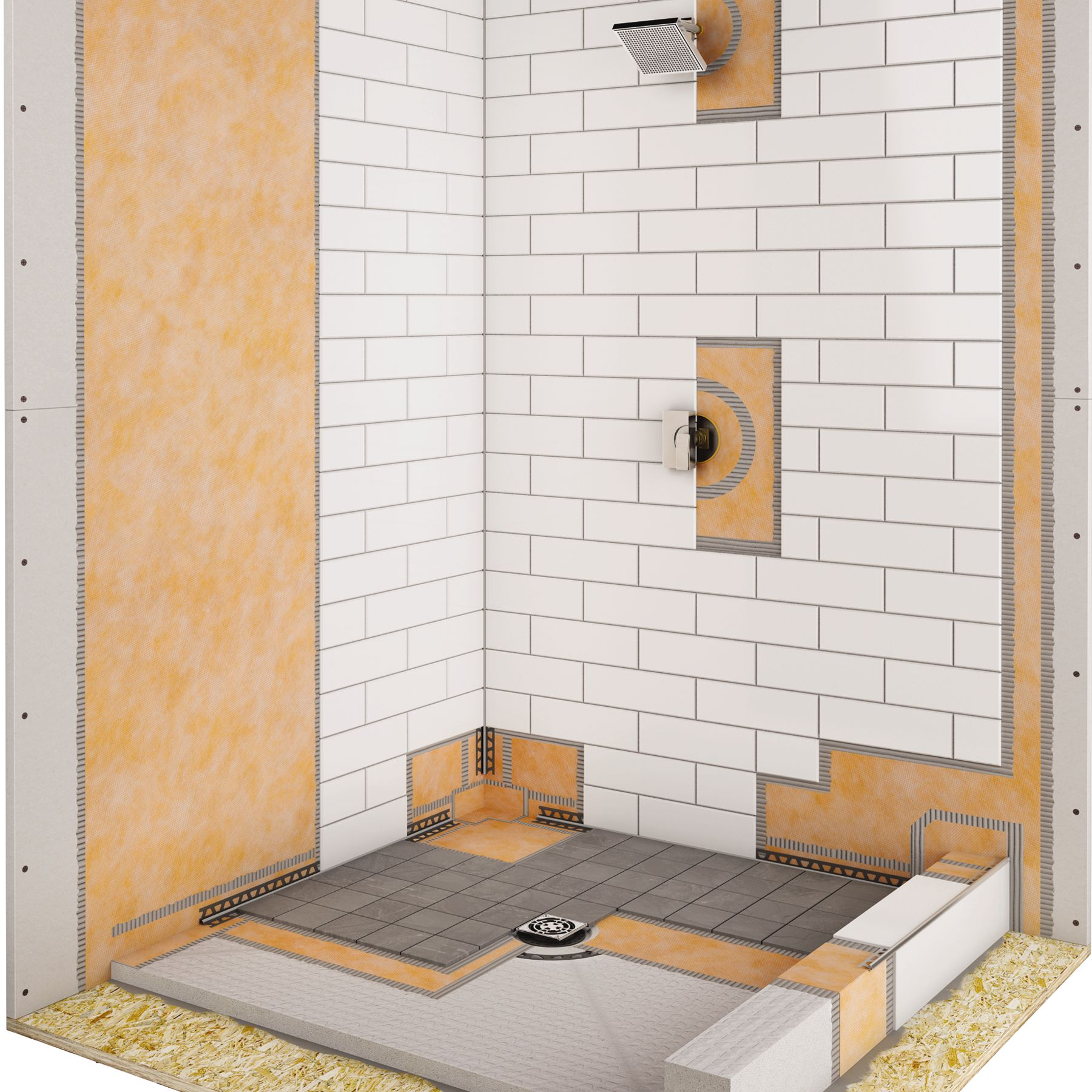 Shower Systems Flooring Solutions Muskoka Flooring